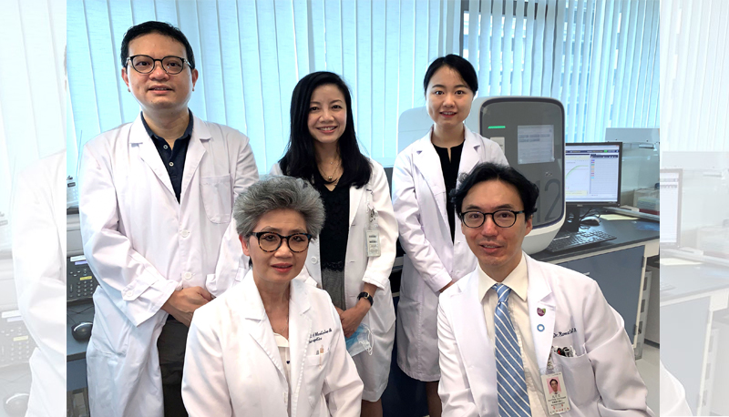 Professor Juliana Chan and Professor Ronald Ma lead the team at CUHK for diabetes research.