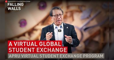 Vice-Chancellor Prof. Rocky S. Tuan – Breaking the wall of international education through virtual student exchange
