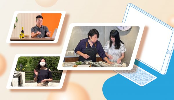 A series of virtual activities organised to enrich the learning experience of the international students.