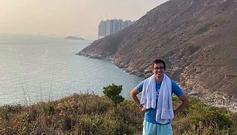 August has been enjoying the easily accessible nature in Hong Kong.
