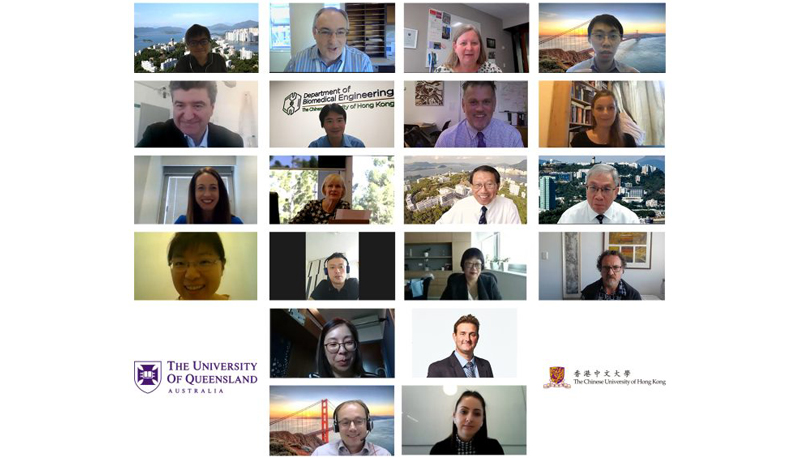 Leading experts from CUHK and UQ speak on tissue engineering and healthcare technology in the joint symposium.