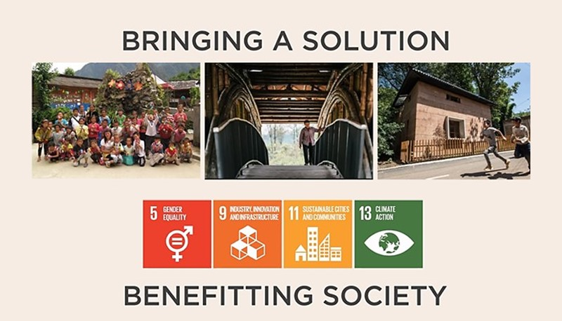 The initiative has creatively improved the environmental, economic, and social sustainable development of poor rural areas.