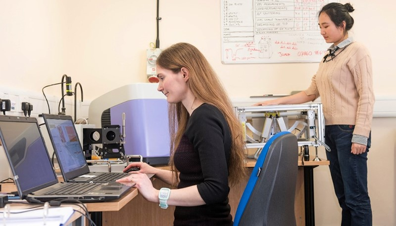 By measuring the Terahertz response of skin, the imaging system developed by Professor MacPherson can assess the hydration and structure of that skin to identify skin cancer and other skin-related maladies.