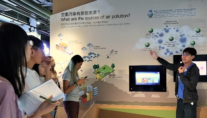 MoCC communicates knowledge about climate change and promotes climate-friendly behaviour.