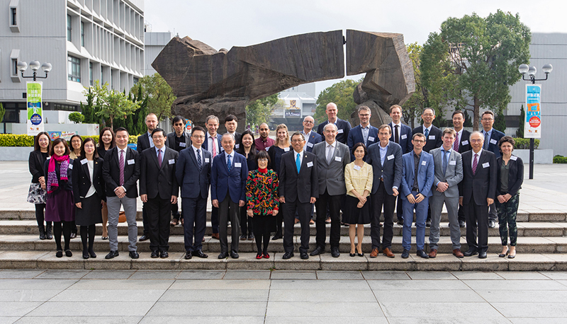 Participants of the CUHK-UU joint workshop.