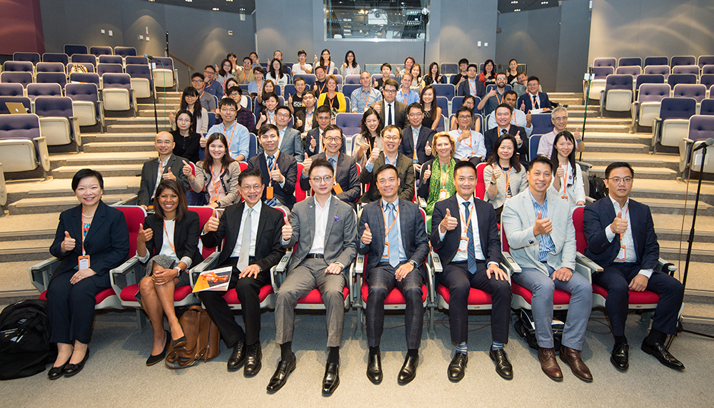 The International Symposium on Digital Health is held at CUHK.