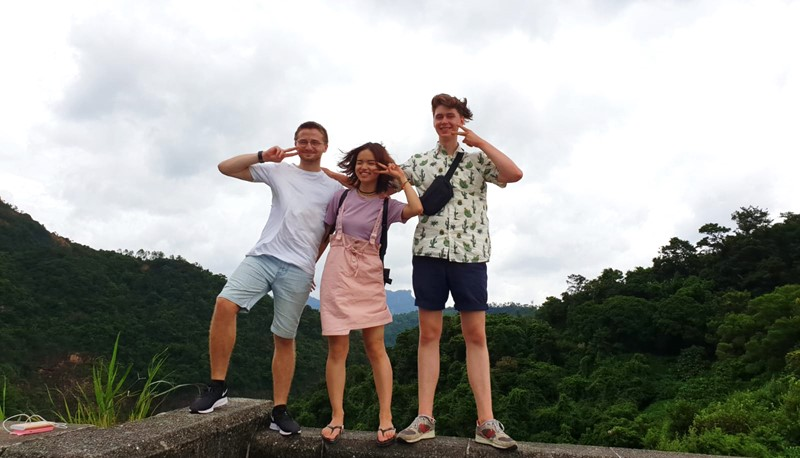 Going on exchange is about gaining new experiences and perspectives. By turning challenges into opportunities, this cohort of exchange students, like William (left), are able to create a once-in-a-lifetime experience of their own.